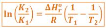 ecuacion-van't-hoff-constante-equilibrio-temperatura-entalpia