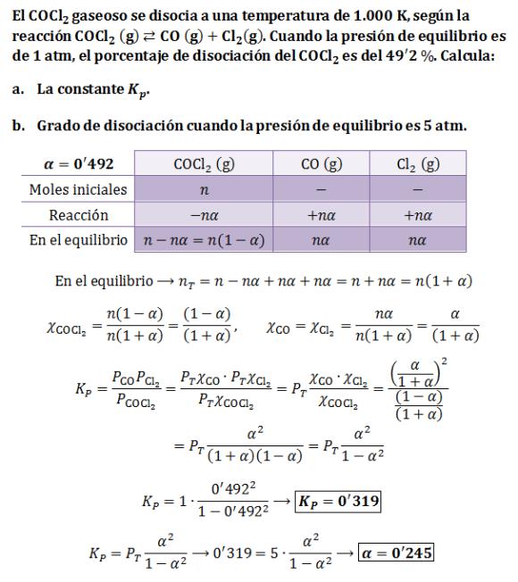 Ejercicio-Kp-grado-disociacion