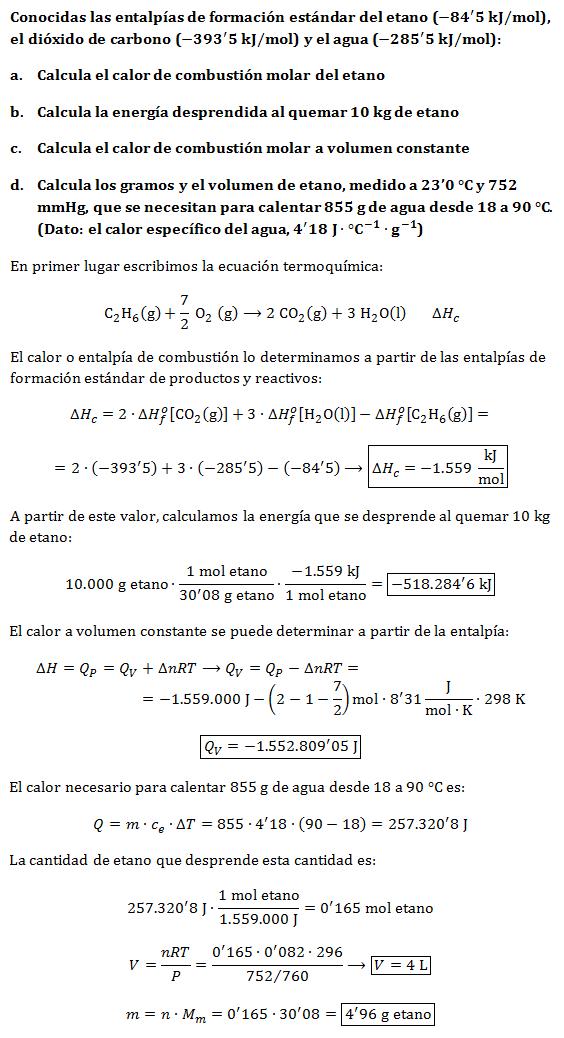 Ejercicio-termoquimica-entalpias-qv-qp