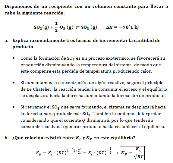 Le-Chatelier-equilibrio-problema