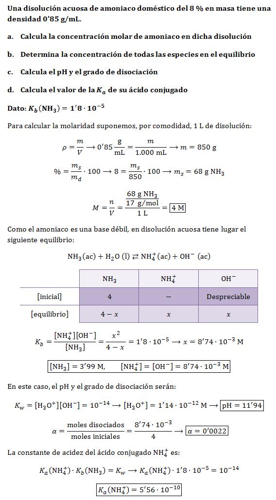 Ejercicios-constante-basicidad-amoniaco