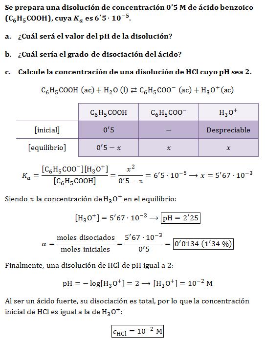 Equilibrio acido base ejercicios resueltos pdf