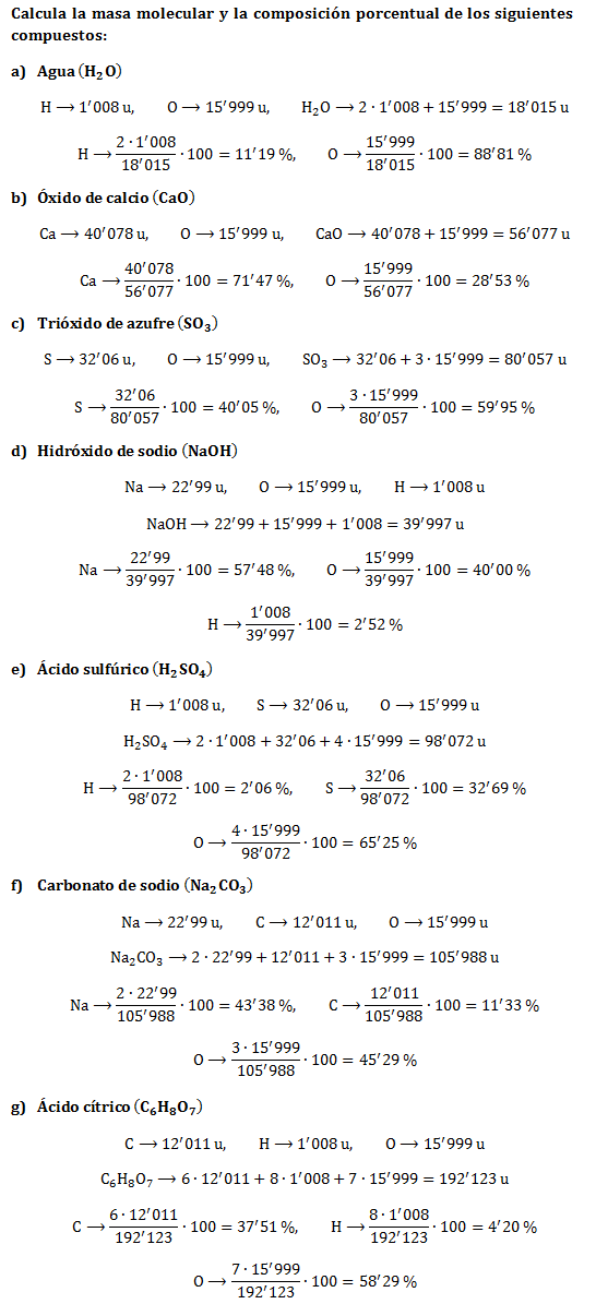 Ejercicio-cálculo-masas-moleculares-composición-porcentual